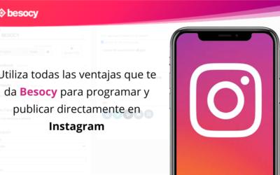 Toda la potencia de Besocy, directa a tu feed de Instagram